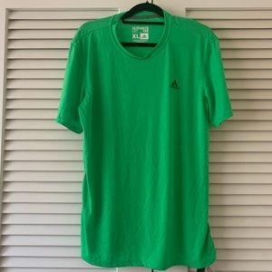 NWT men's green adidas ultimate tee